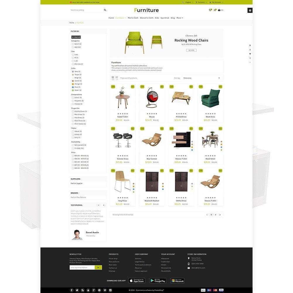theme - Home & Garden - Furniture - Furniture Multi Store - 3