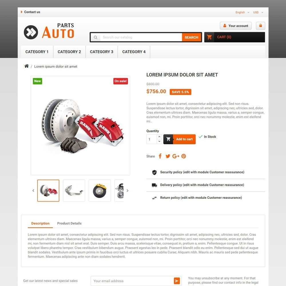 theme - Automotive & Cars - AutoParts - 3