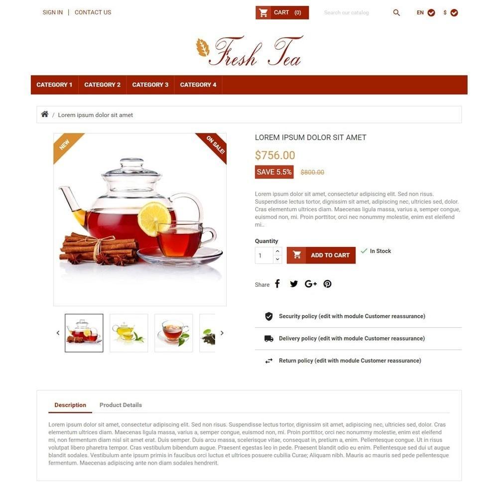 theme - Napoje & Wyroby tytoniowe - FreshTea - 3