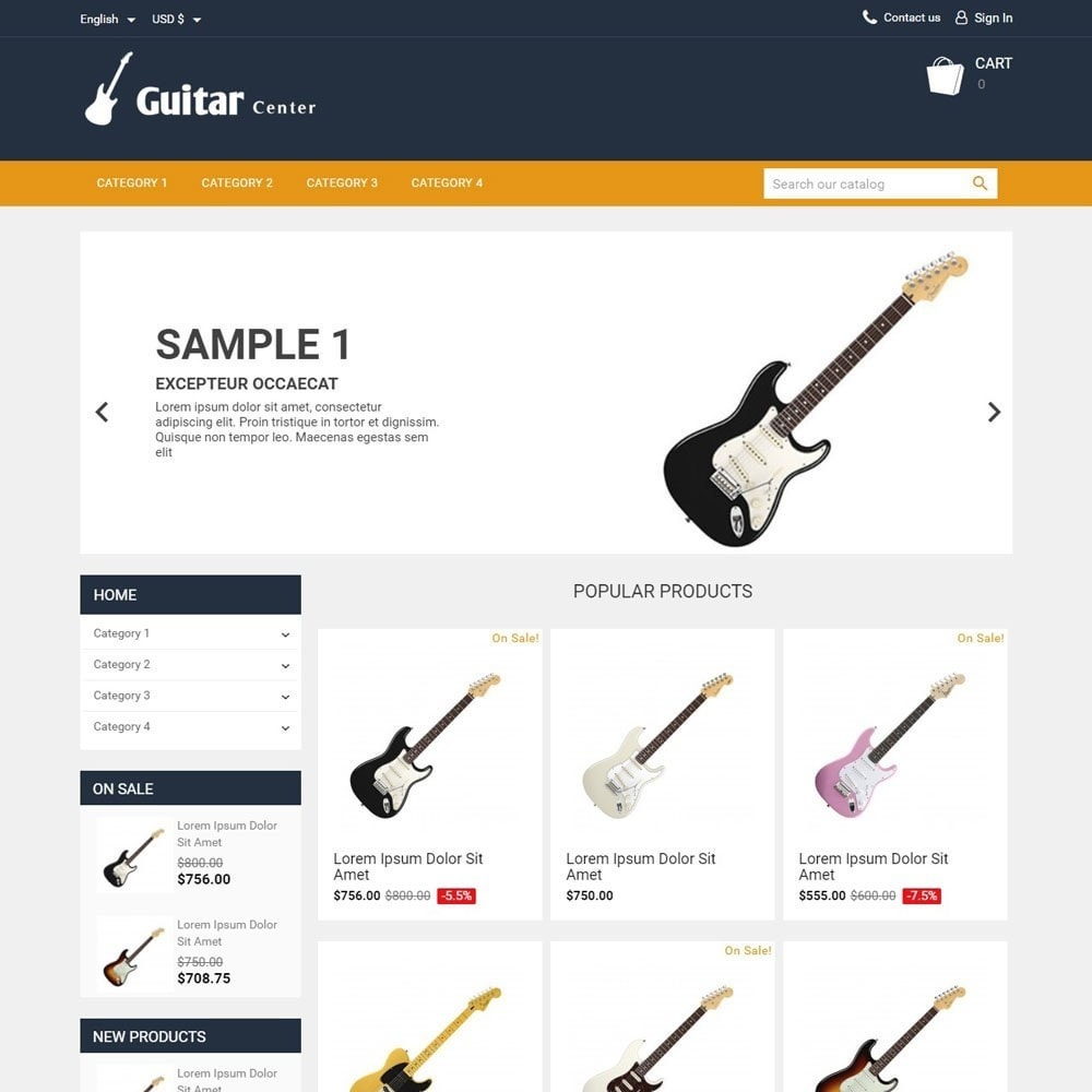 theme - Kultura & Sztuka - GuitarCenter - 1