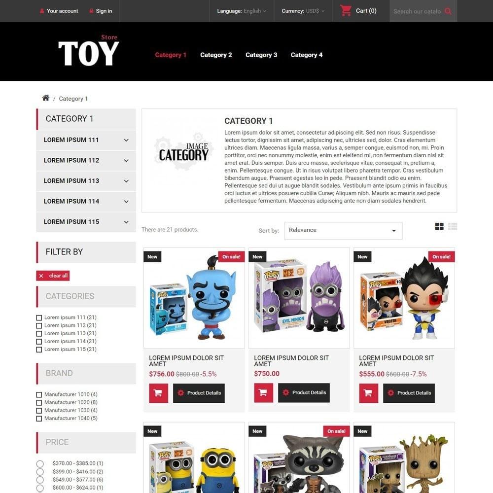 theme - Zabawki & Artykuły dziecięce - ToyStore - 2