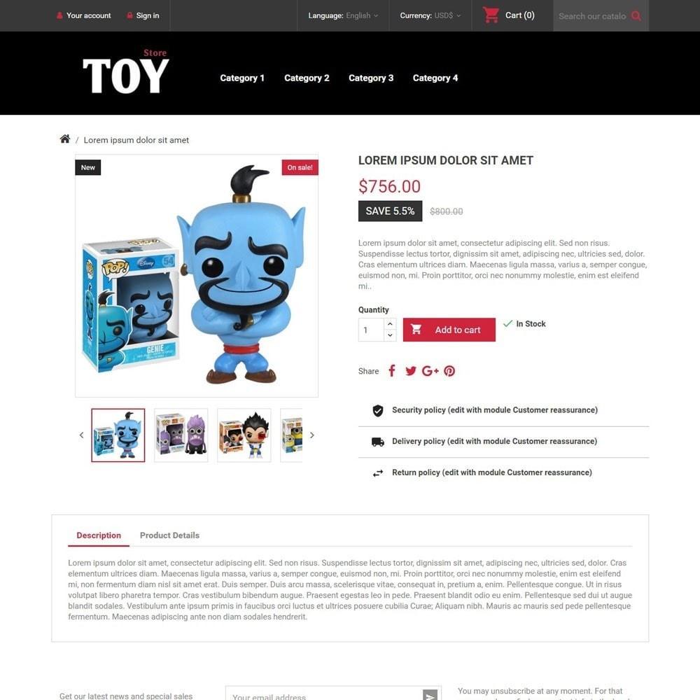 theme - Zabawki & Artykuły dziecięce - ToyStore - 3
