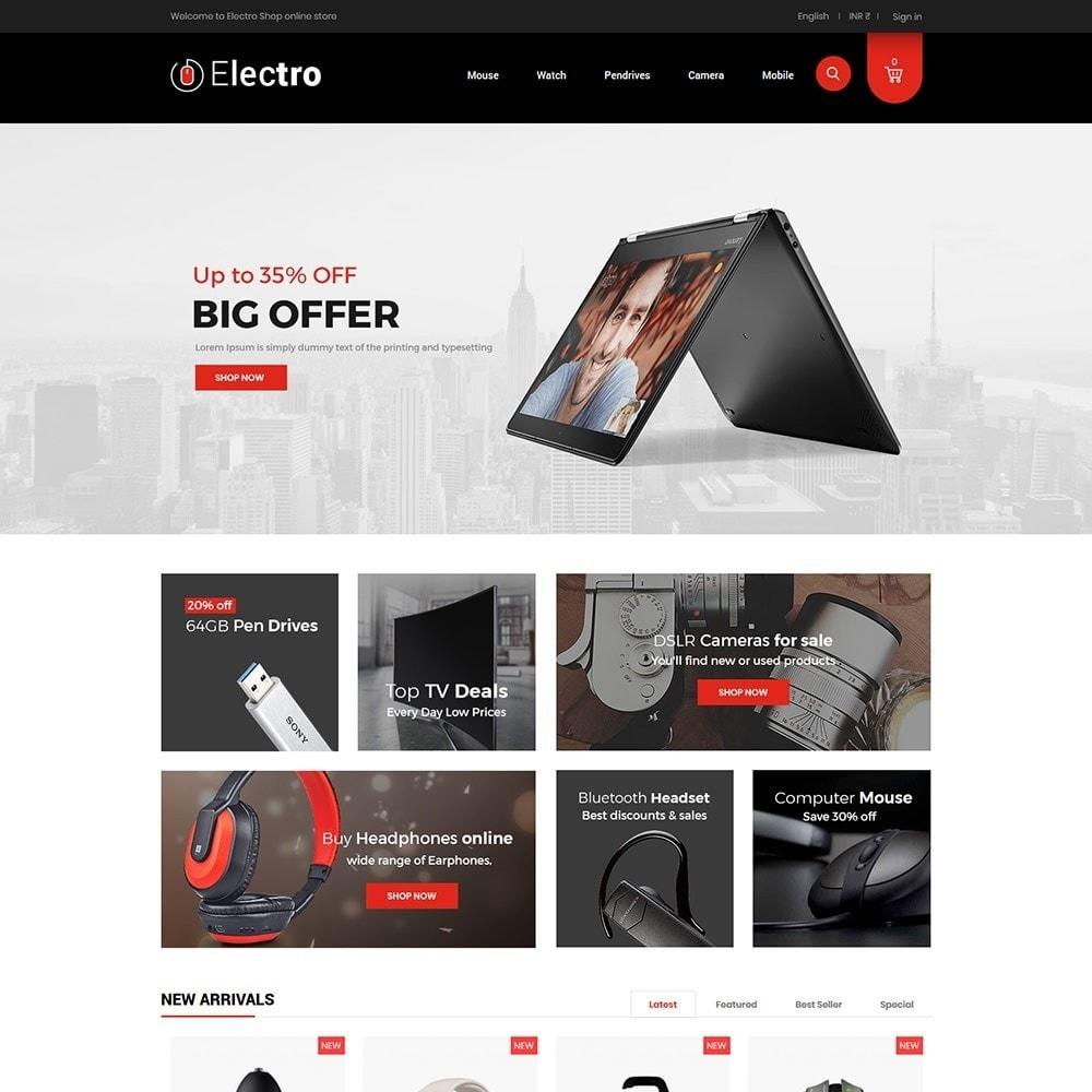 Electro - Electronics Store