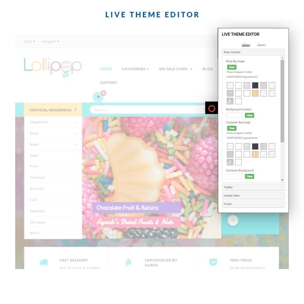 theme - Food & Restaurant - Leo Lollipop - 4