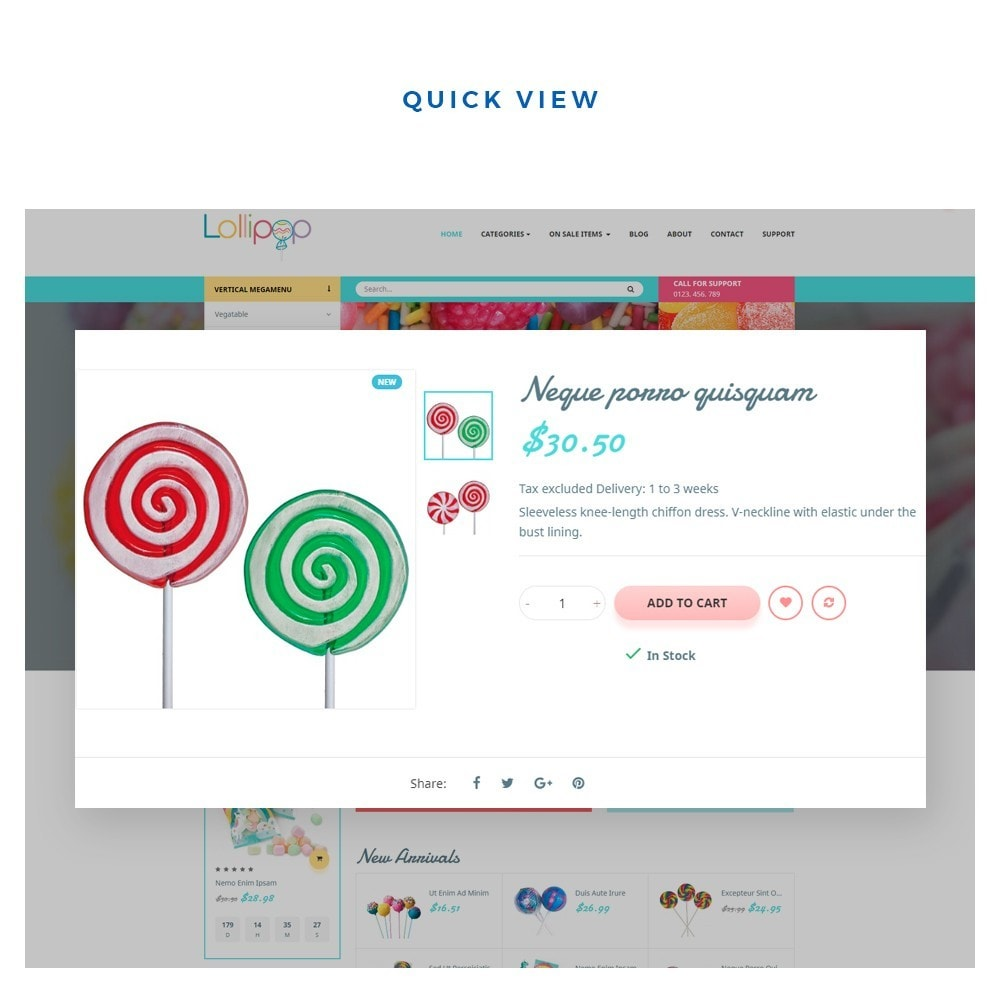theme - Food & Restaurant - Leo Lollipop - 5