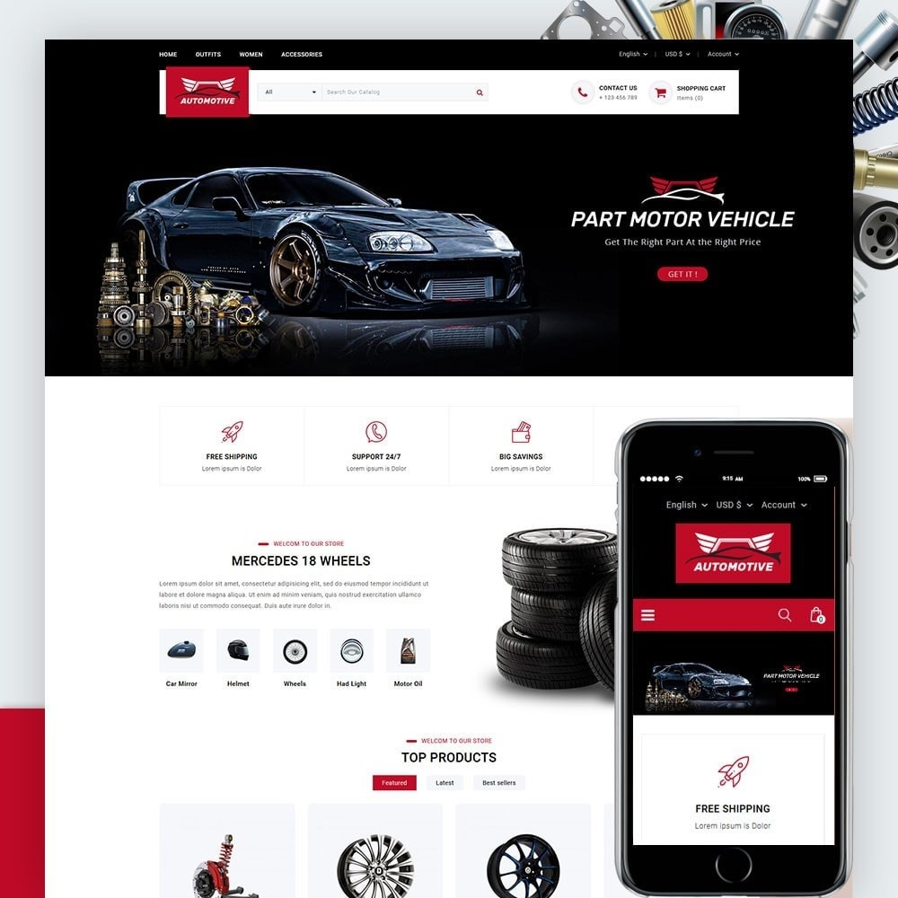 Automotive Car Store