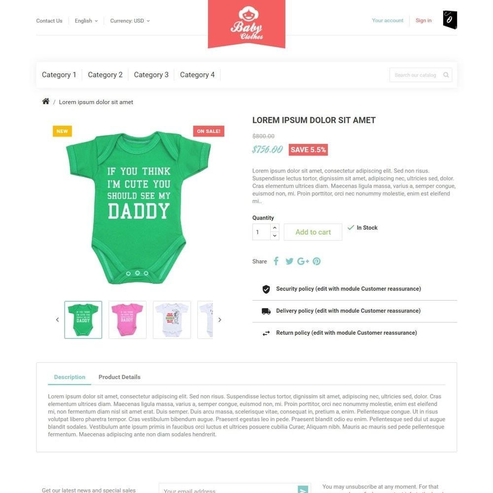 theme - Kids & Toys - BabyClothes - 3