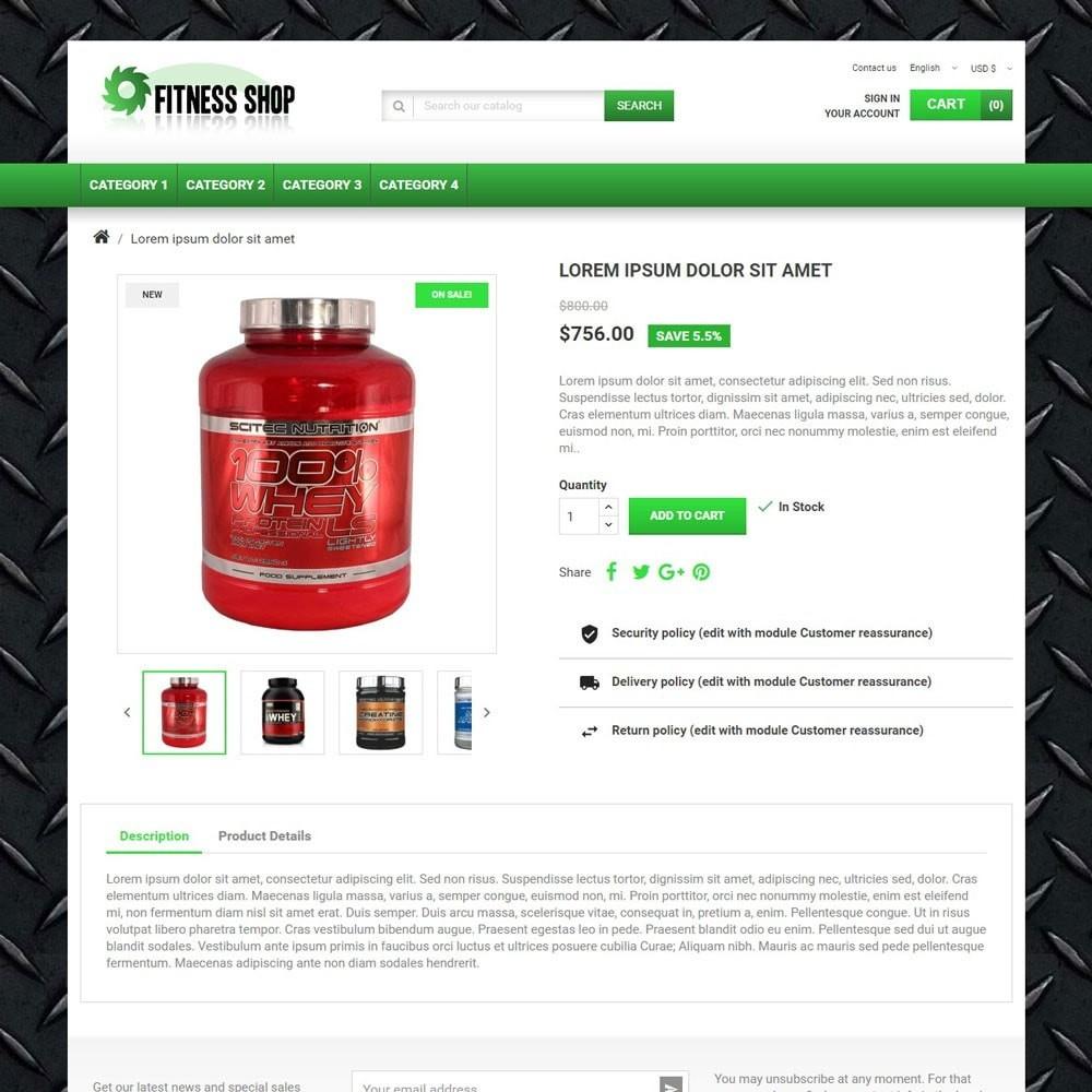 theme - Sport, Activiteiten & Reizen - FitnessShop - 3
