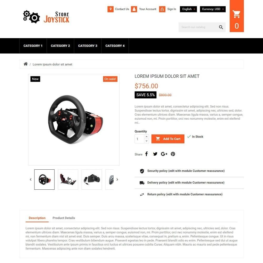 theme - Elektronica & High Tech - JoystickStore - 3