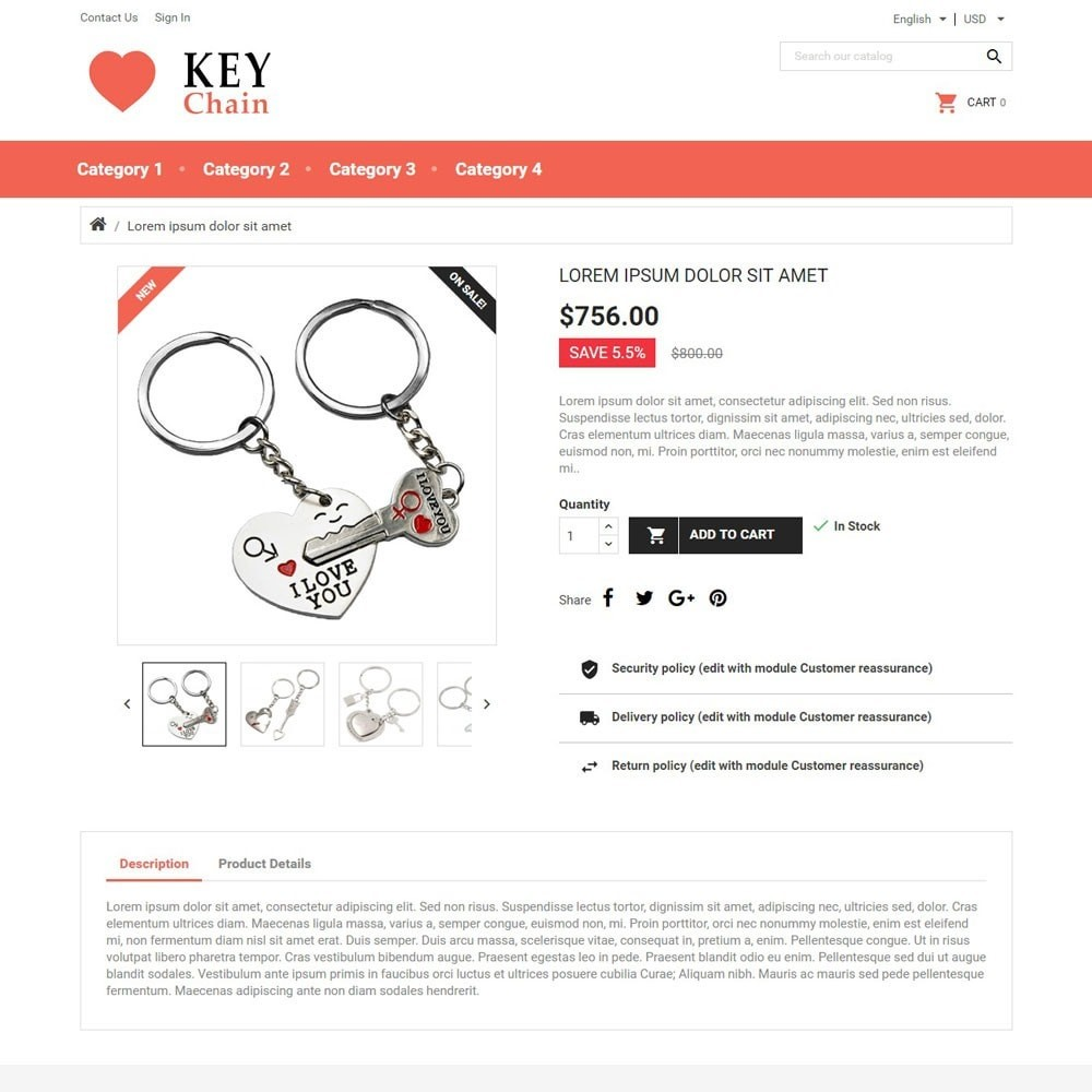 theme - Gifts, Flowers & Celebrations - KeyChain - 3