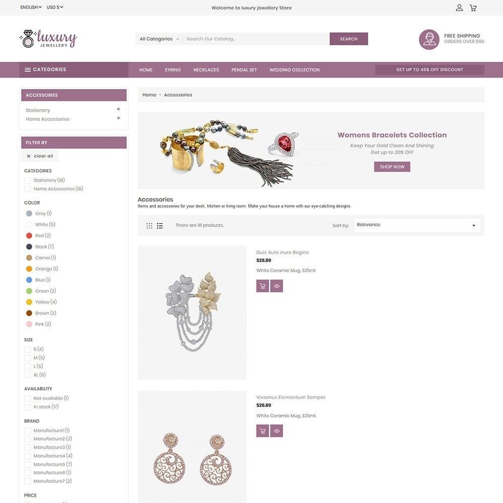 theme - Biżuteria & Akcesoria - Luxury Jewellery Stores - 4