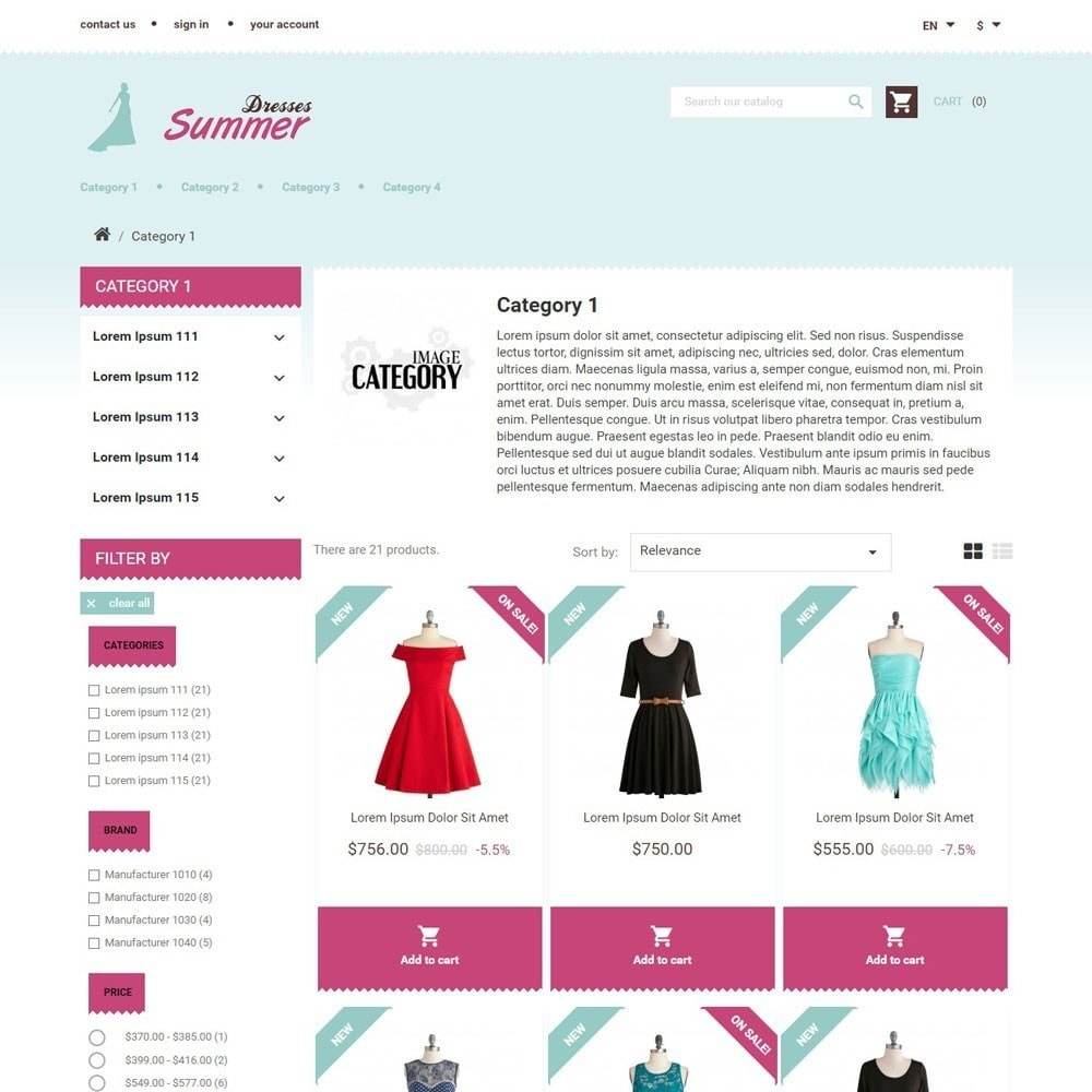 theme - Moda & Calzature - SummerDresses - 2