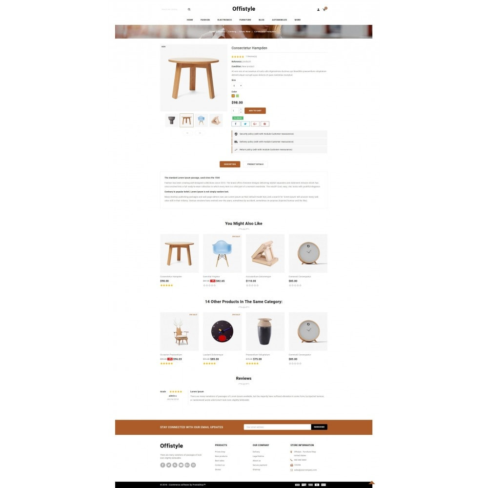 theme - Home & Garden - Offistyle - Furniture Store - 5