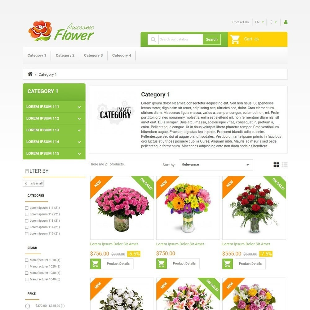 theme - Geschenke, Blumen & Feiern - AwesomeFlowers - 2