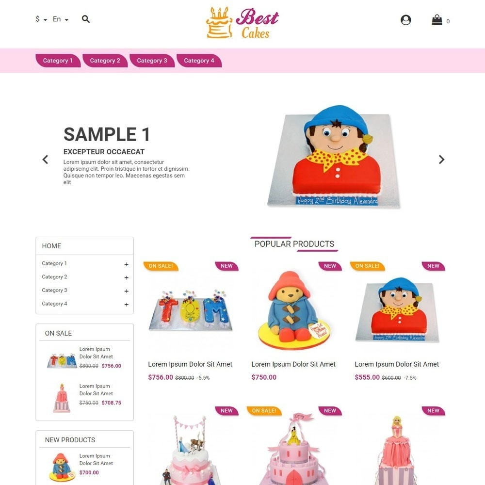 theme - Kids & Toys - BestCakes - 1