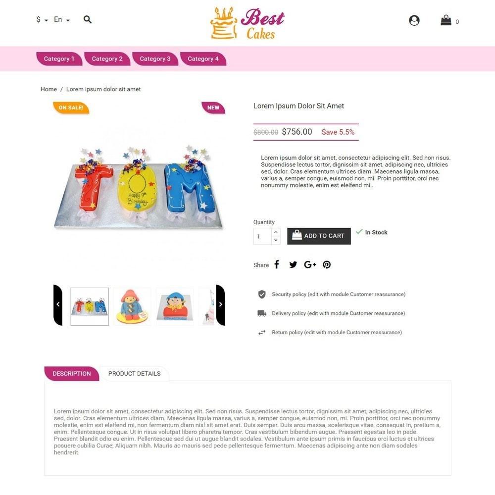 theme - Zabawki & Artykuły dziecięce - BestCakes - 3