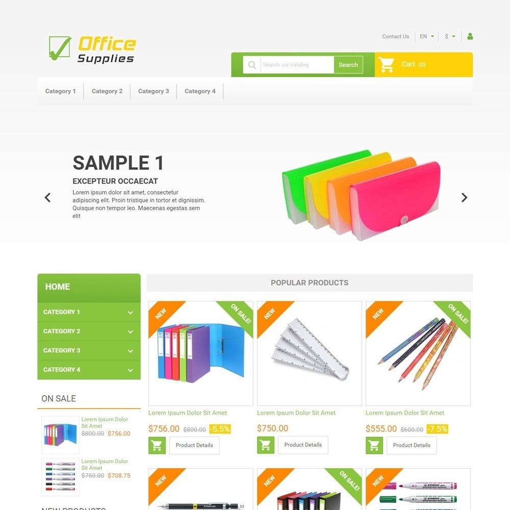 theme - Arte e Cultura - OfficeSupplies - 1