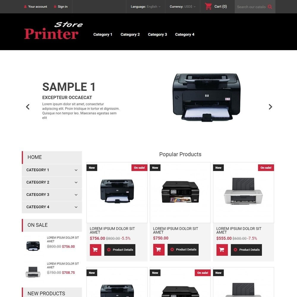 PrinterStore