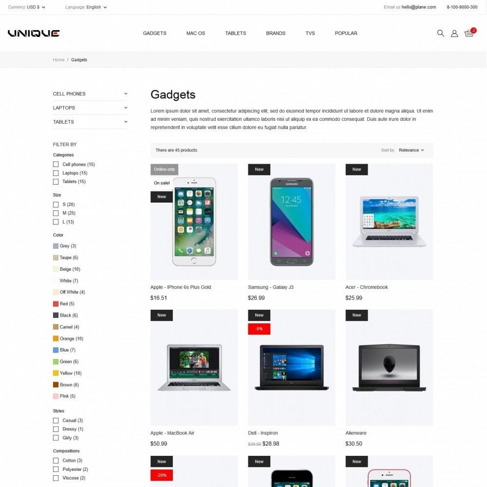 theme - Electronics & Computers - Unique - High-tech Shop - 5