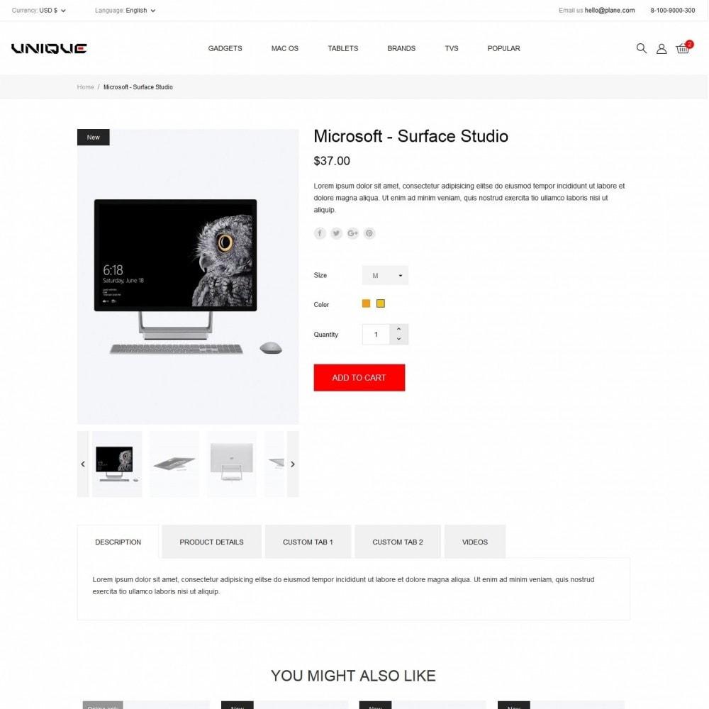 theme - Electronics & Computers - Unique - High-tech Shop - 6