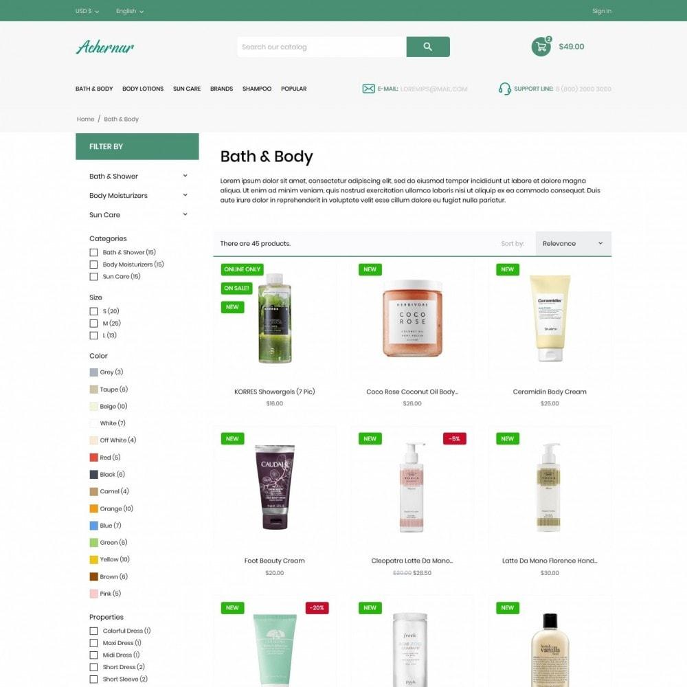 theme - Health & Beauty - Achernar Cosmetics - 5