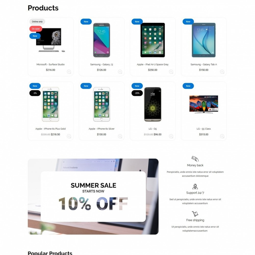 theme - Electronics & Computers - The Best Solution - High-tech Shop - 3