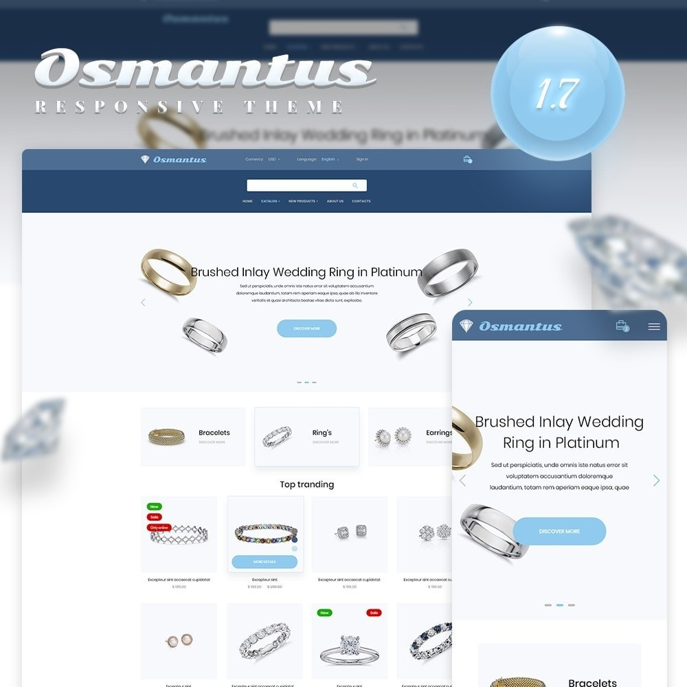 theme - Jewelry & Accessories - Osmantus - 1