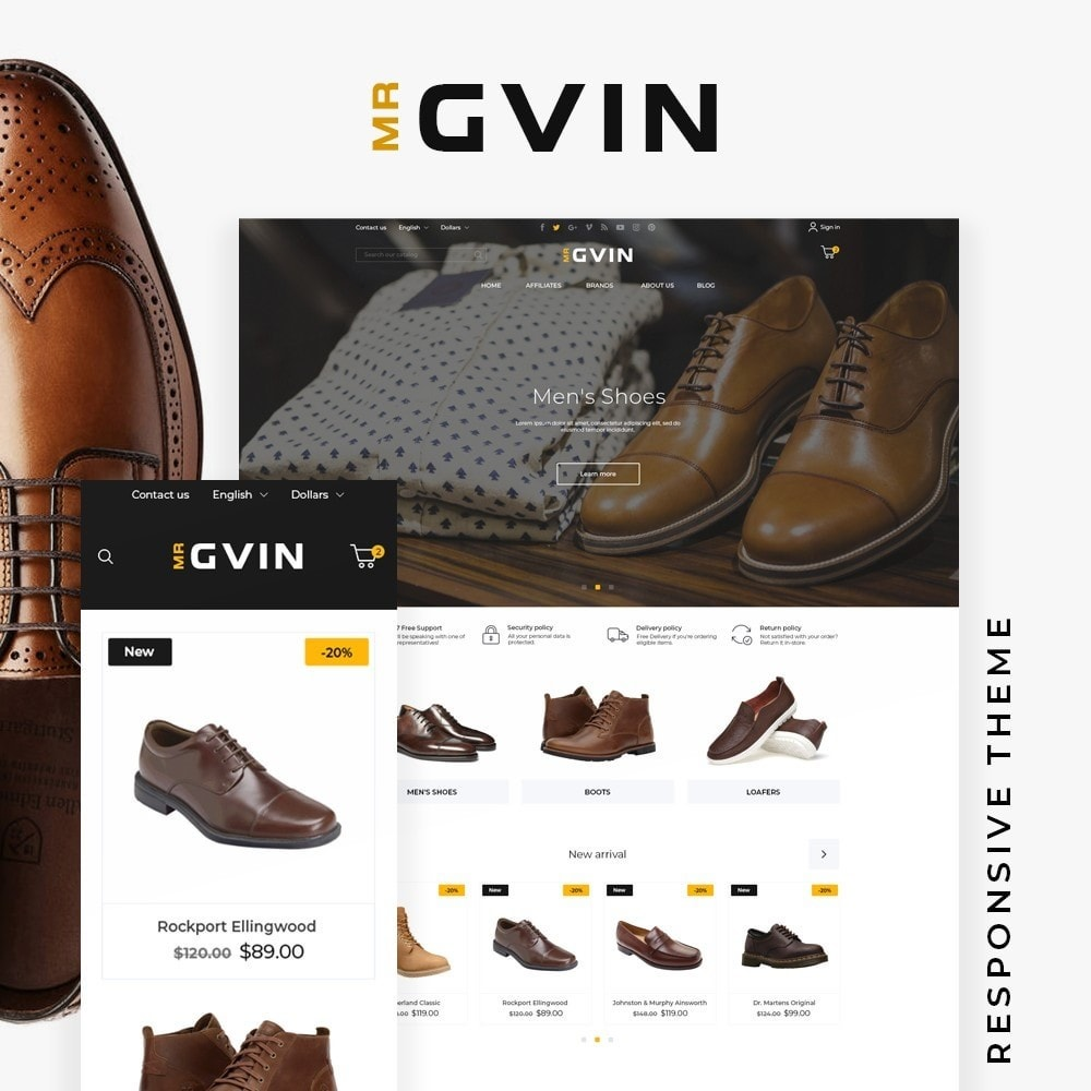 theme - Fashion & Shoes - Mr Gvin Shop - 1