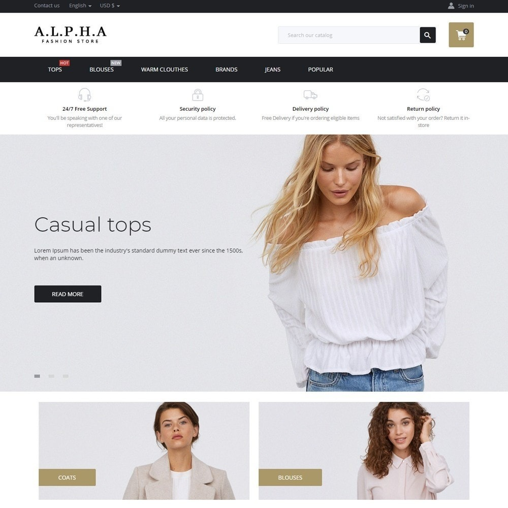 Alpha Fashion Store