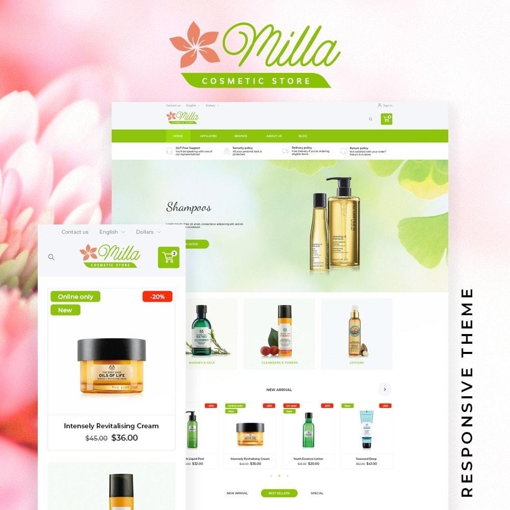 theme - Health & Beauty - Milla Cosmetics - 1