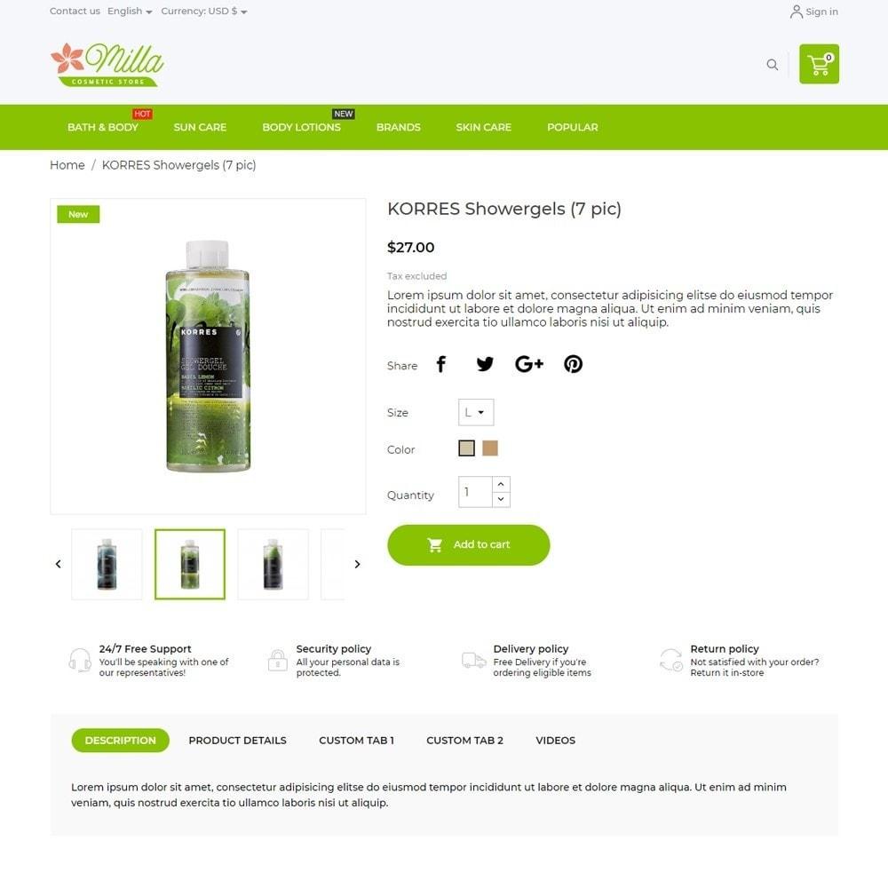 theme - Health & Beauty - Milla Cosmetics - 5
