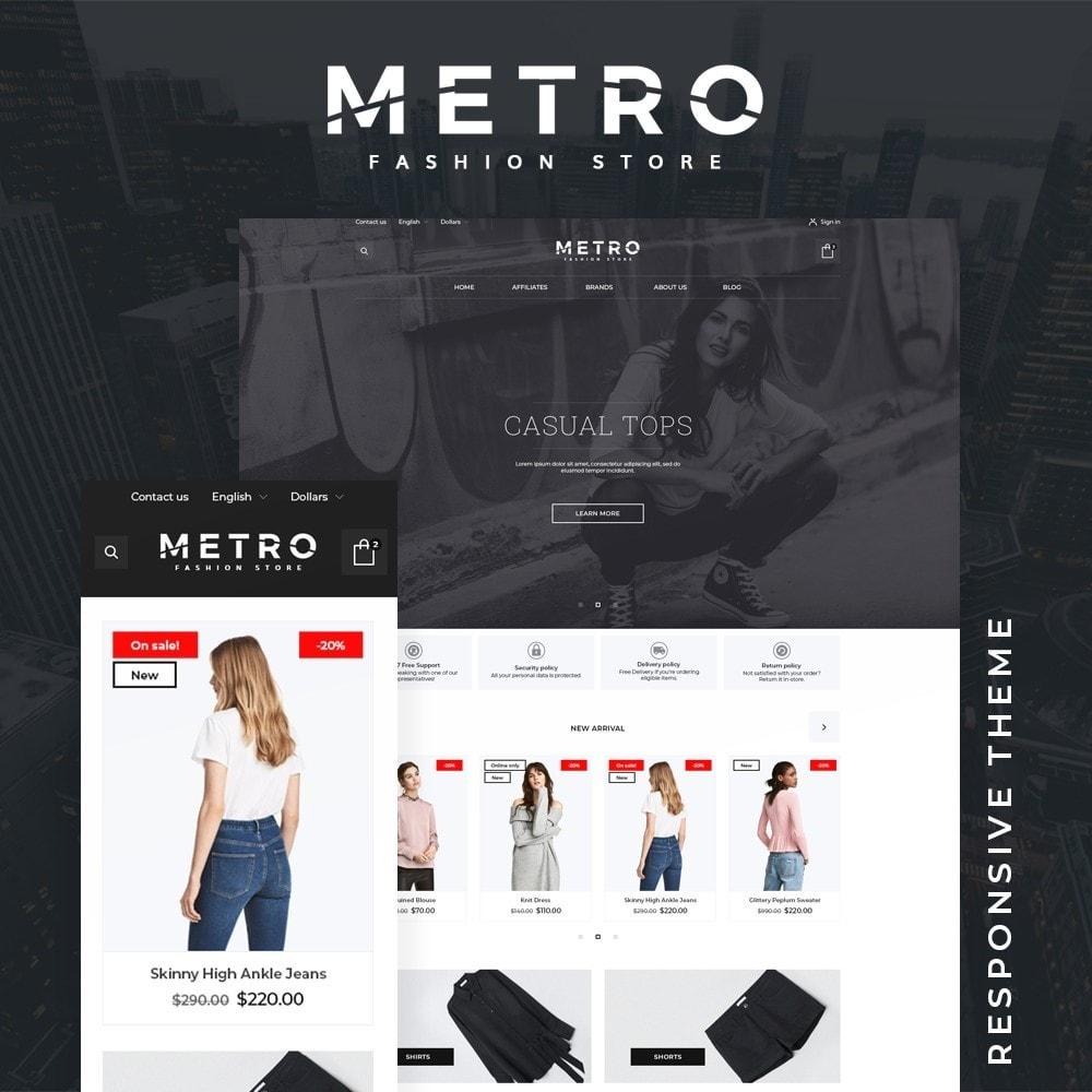 theme - Fashion & Shoes - Metro Fashion Store - 1