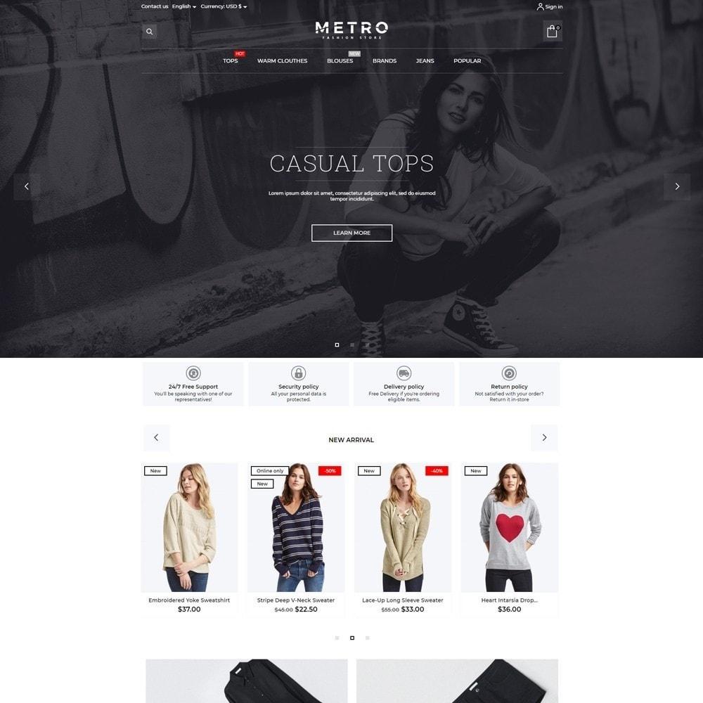 Metro Fashion Store