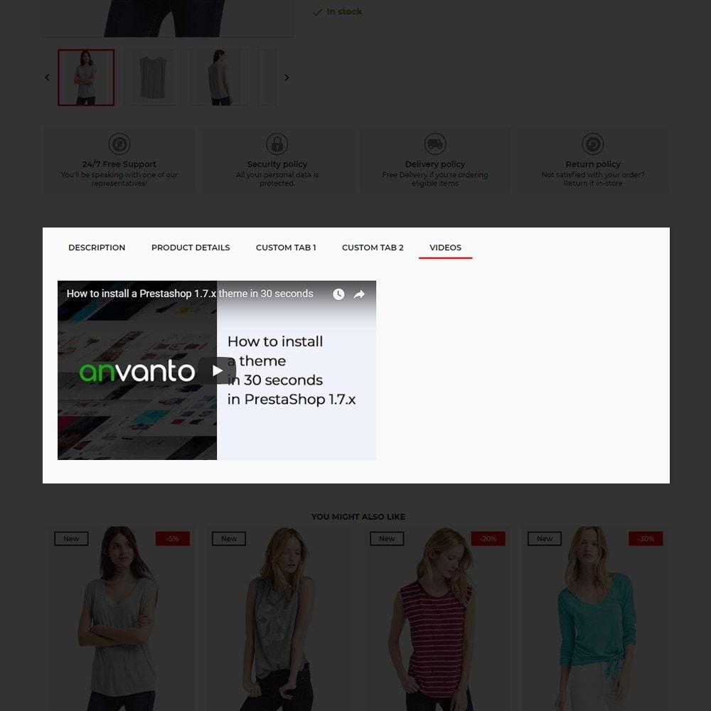 theme - Fashion & Shoes - Metro Fashion Store - 9