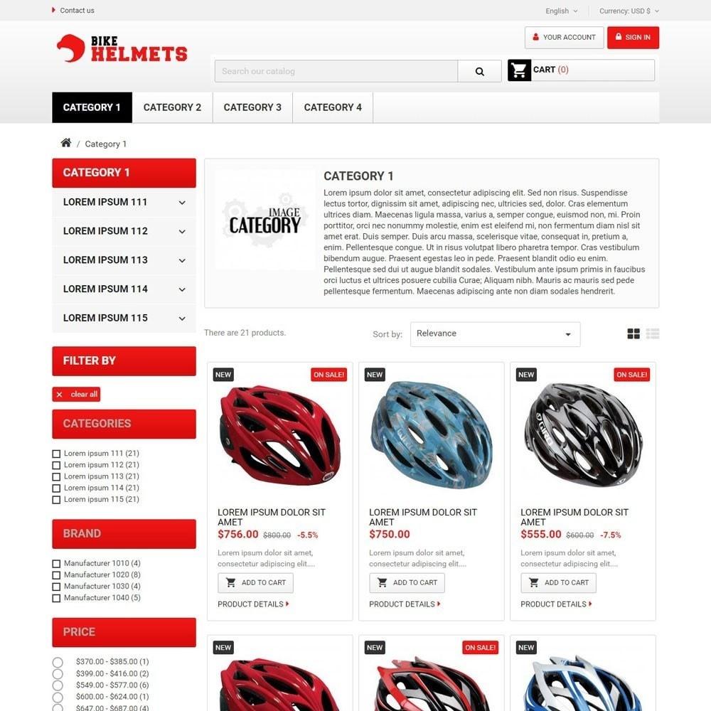 theme - Sport, Rozrywka & Podróże - BikeHelmets - 2