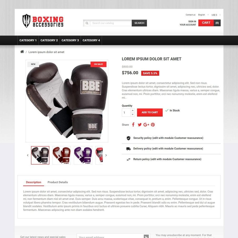 theme - Deportes, Actividades y Viajes - BoxingAccessories - 3