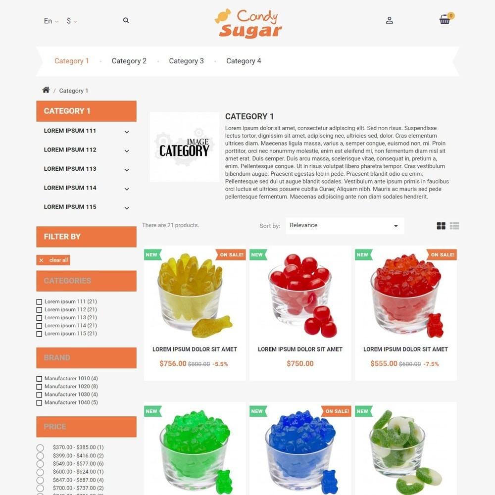 theme - Alimentos & Restaurantes - CandySugar - 2