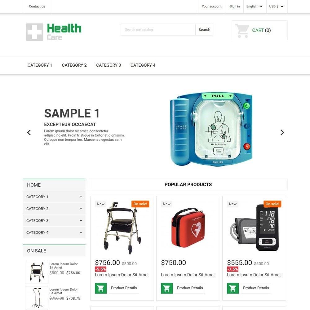 theme - Santé & Beauté - HealthCare - 1