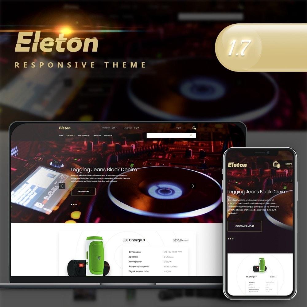 theme - Electronics & Computers - Eleton - High-tech Shop - 1