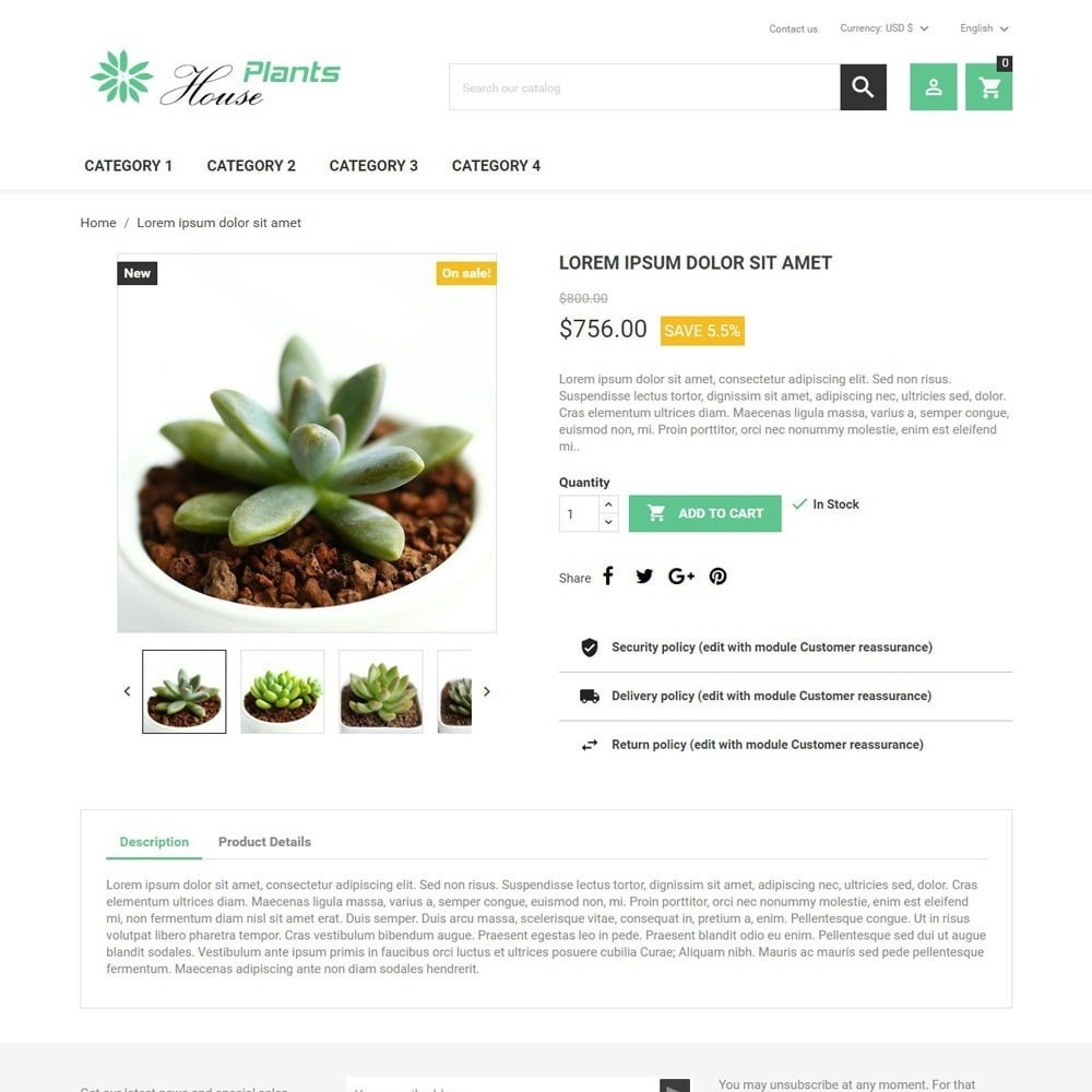 theme - Home & Garden - HousePlants - 3