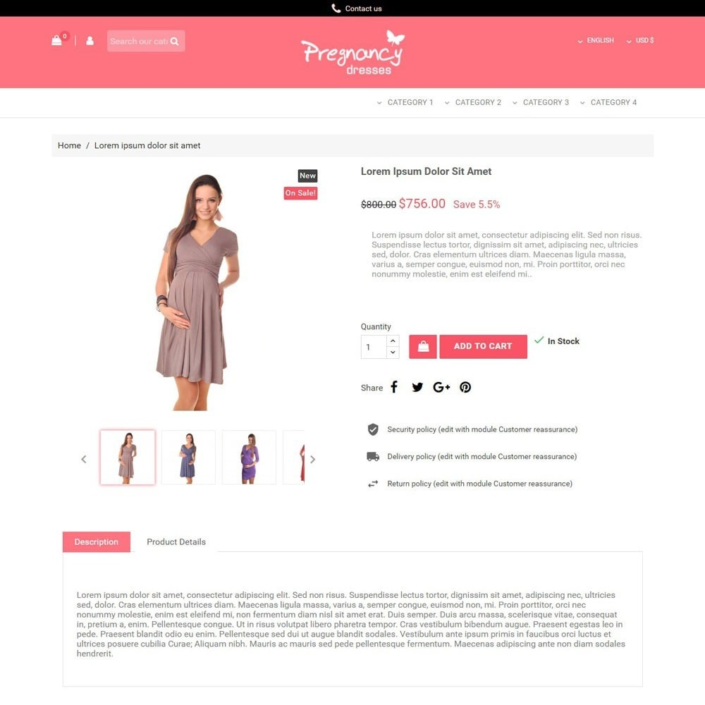 theme - Mode & Chaussures - PregnancyDresses - 3
