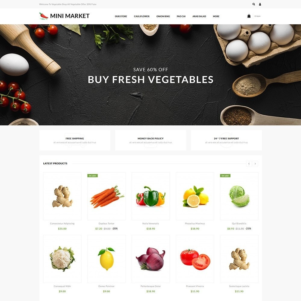 theme - Food & Restaurant - Minimarket - The Grocery Store - 2