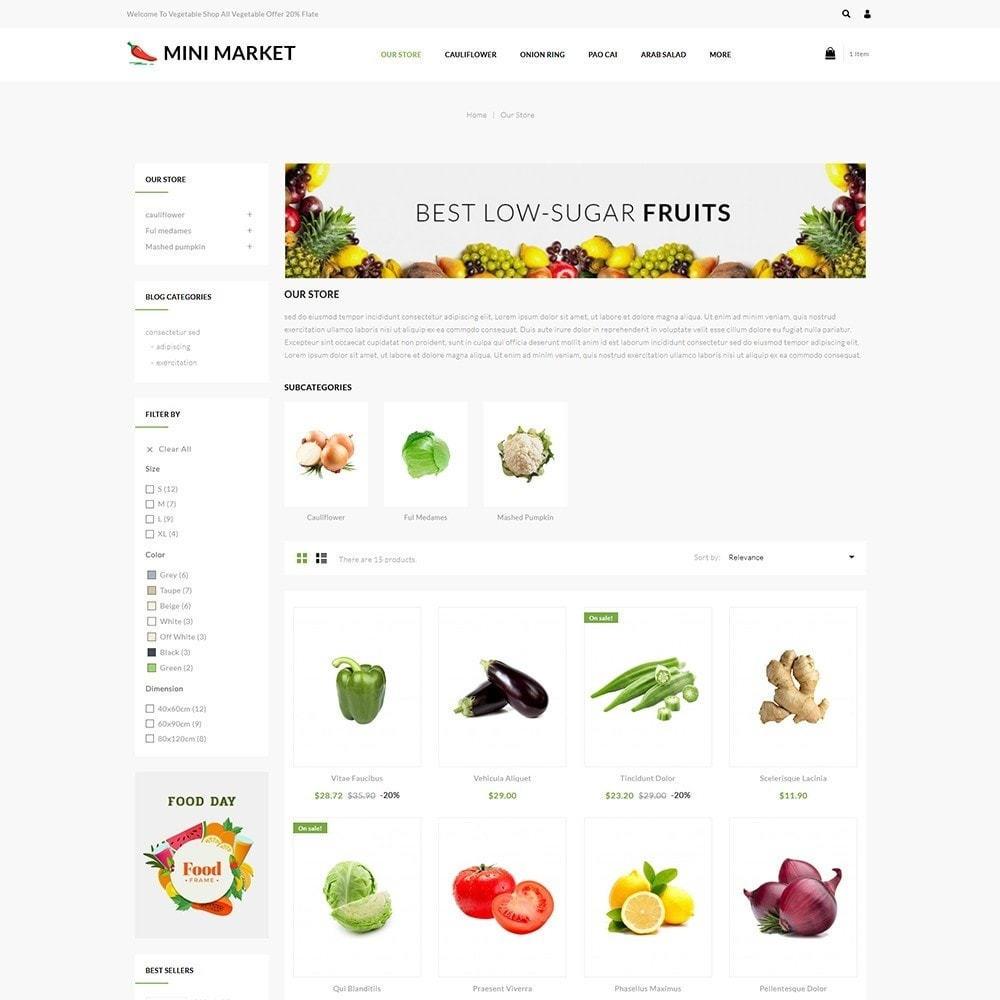 theme - Food & Restaurant - Minimarket - The Grocery Store - 4