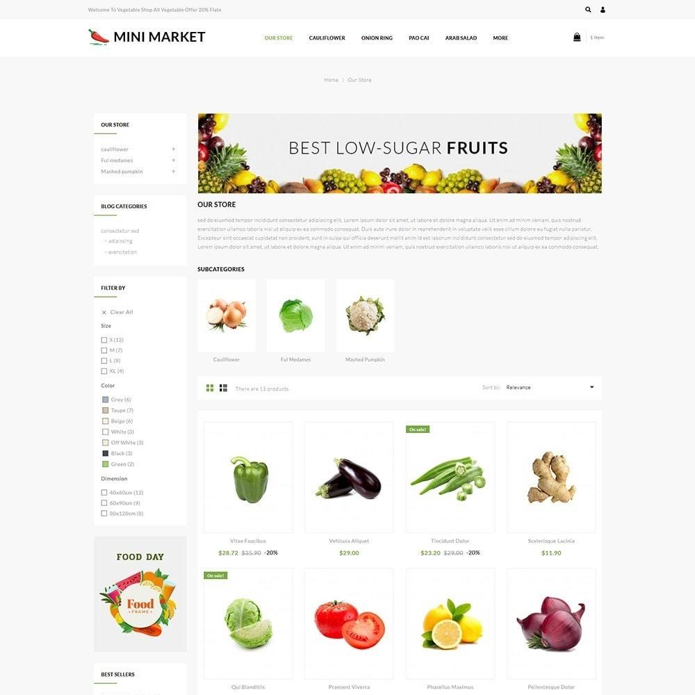theme - Продовольствие и рестораны - Minimarket - The Grocery Store - 4