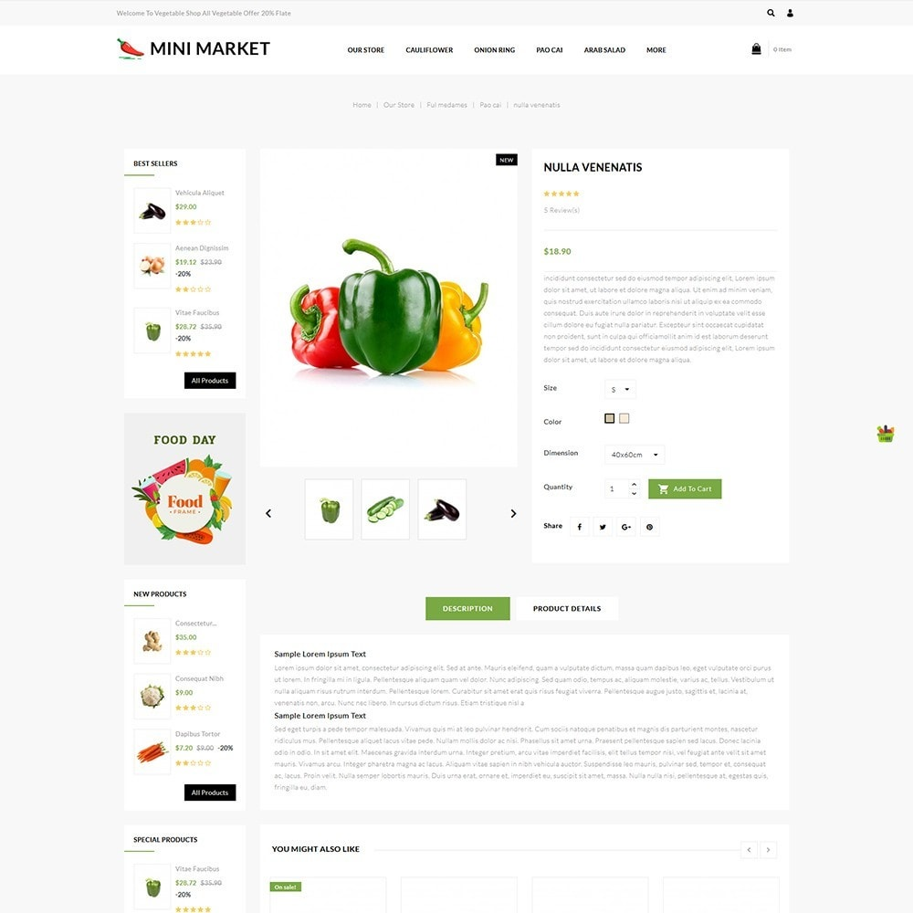 theme - Food & Restaurant - Minimarket - The Grocery Store - 6