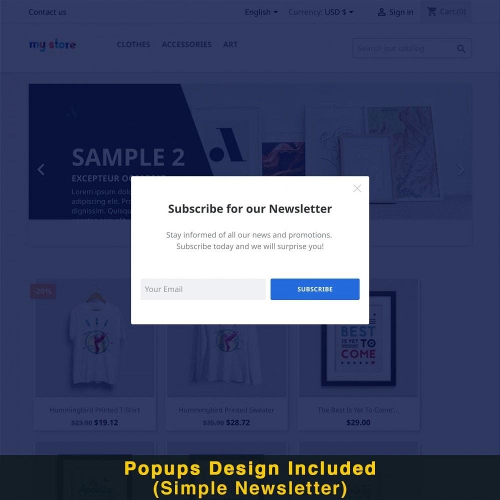 module - Promotions & Cadeaux - Popup Intelligent (Bulletin Popup) - 16