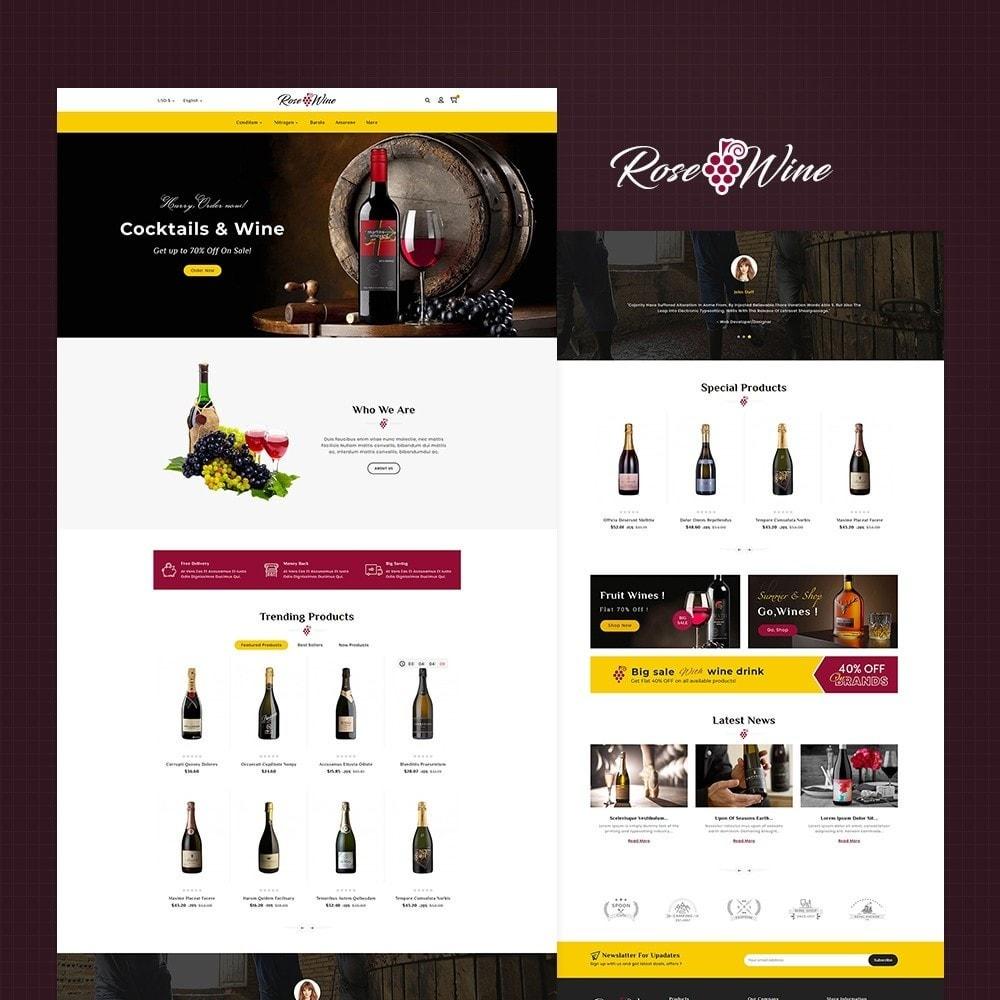 Rose Wine Store