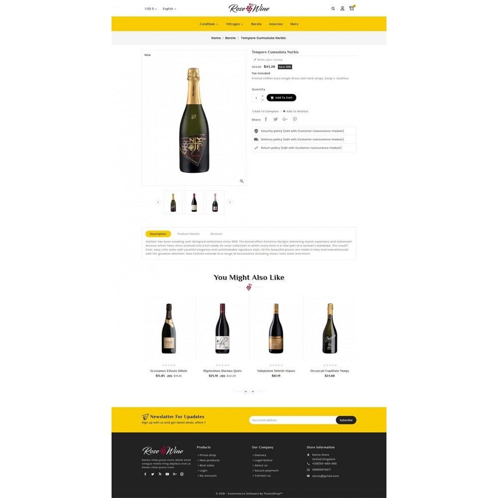 theme - Drink & Wine - Rose Wine Store - 5