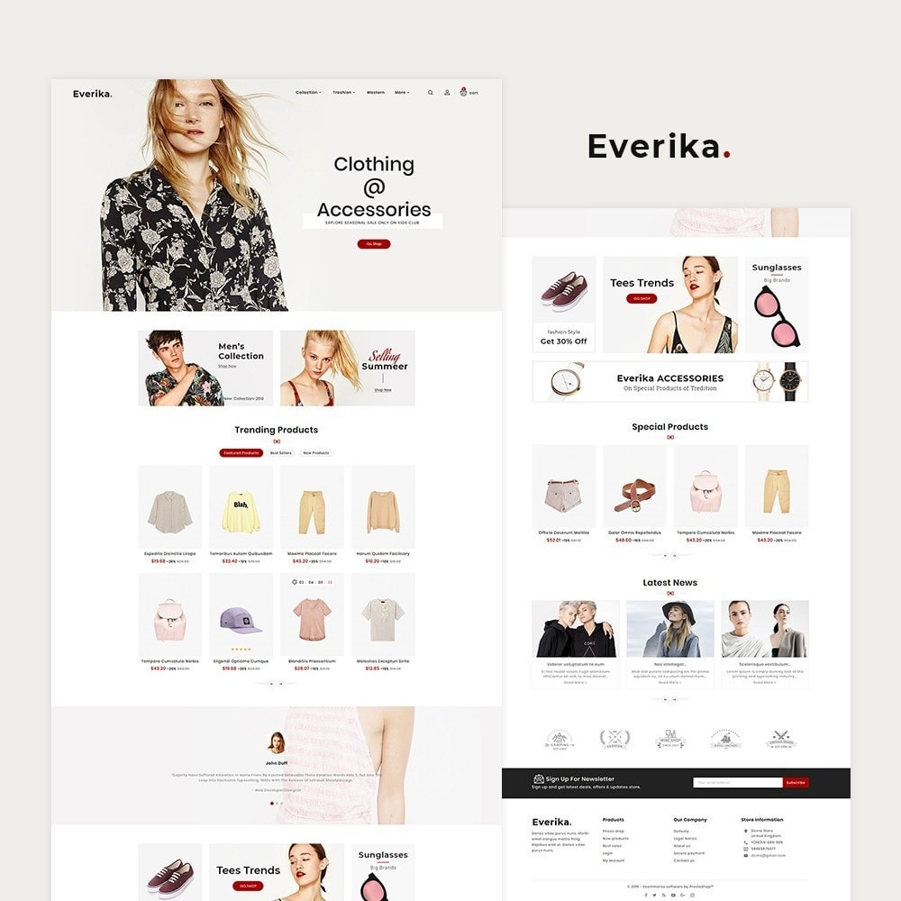 Everika Fashion Apparels