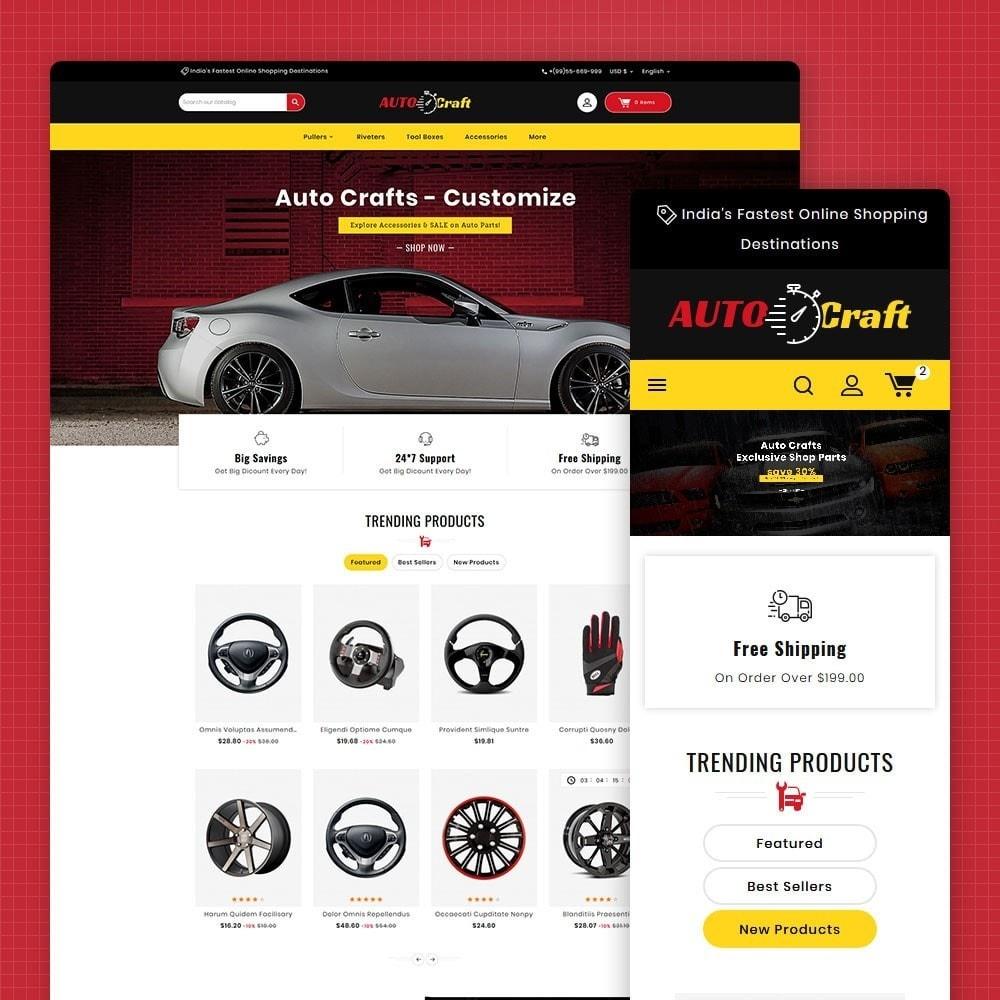 Auto Crafts & Parts